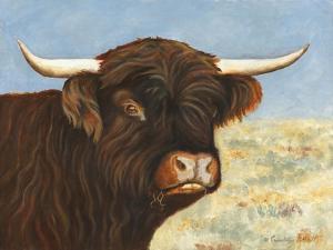 Highland Cow by Gwendolyn Babbitt