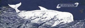 Indigo Whale I by Gwendolyn Babbitt