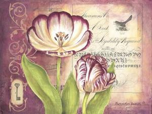 Tulip Collage II by Gwendolyn Babbitt