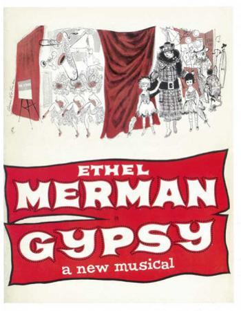 Gypsy - Broadway Poster , 1959