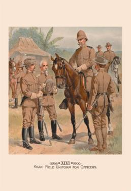 Khaki Field Uniform for Officers by H.a. Ogden