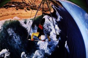 Courage: Hang Glider by H Armstrong Roberts