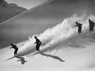 Downhill Skiing by H. Armstrong Roberts