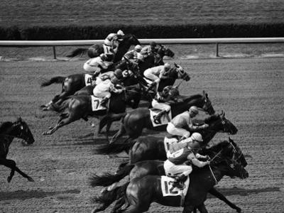 Horse Racing by H. Armstrong Roberts