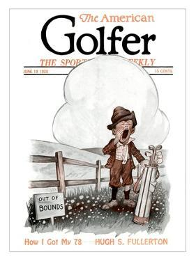 The American Golfer June 19, 1920 by H.B. Martin