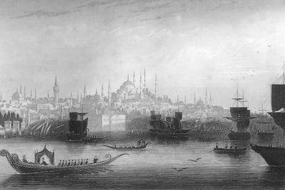 Constantinople (Istanbu), Turkey, 1857