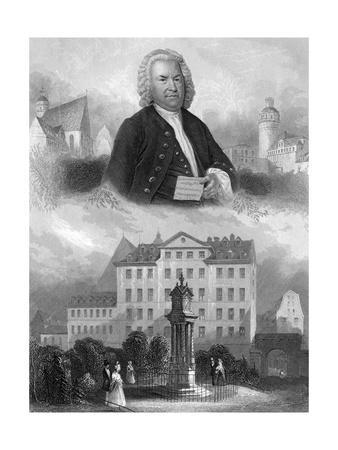 J S Bach and Places