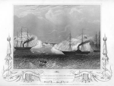 The Gallant Affair of the 'Hecla' and 'Arrogant, 1854