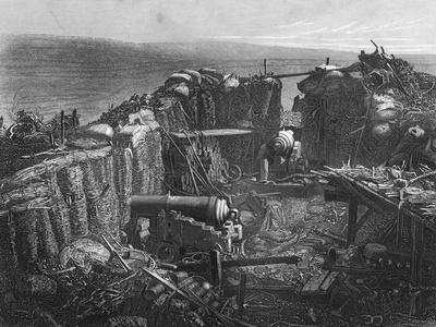 The Redan, View of a Portion of the Interior, Crimean War