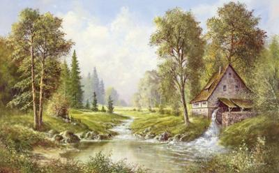 Old Mill by H. Buchner
