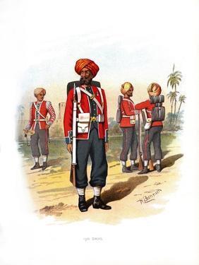 15th Sikhs, C1890 by H Bunnett