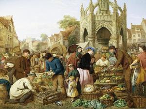 Malmesbury Market by H.C. Bryant