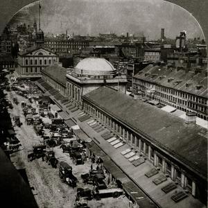 Quincy Market and Faneuil Hall 1906 by H.C. White