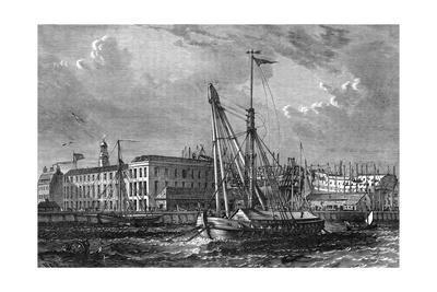 Docks, Deptford, 1810