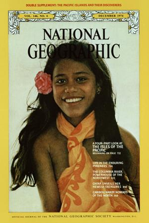 Cover of the December, 1974 National Geographic Magazine by H. Edward Kim