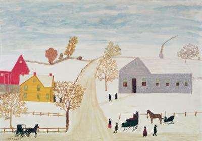 Amish Village by H.F. Lang