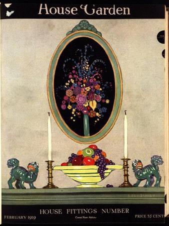 House & Garden Cover - February 1919