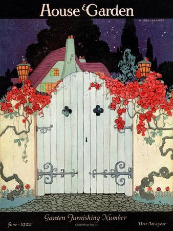 House & Garden Cover - June 1922