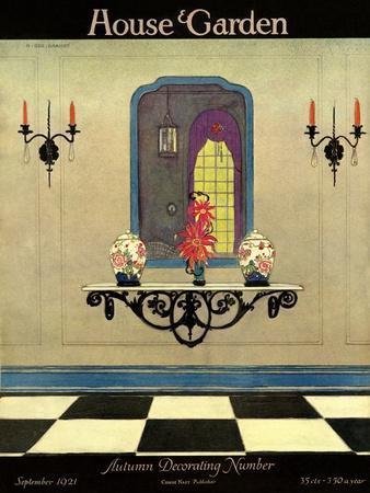 House & Garden Cover - September 1921