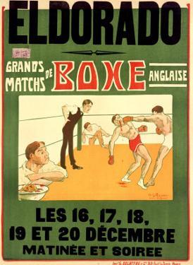 El Dorado, Matchs de Boxe Anglaise by H. L. Roowy