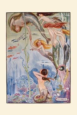 Six Little Mermaids by H.m. Brock