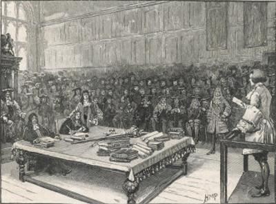 Captain William Kidd Before the Bar of the House of Commons by H.m. Paget