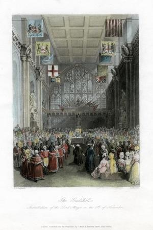 Installation of the Lord Mayor, the Guildhall, London