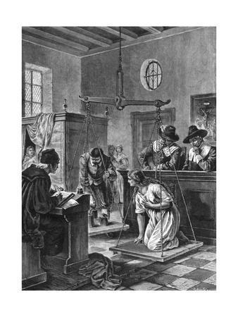 Weighing a Dutch Witch