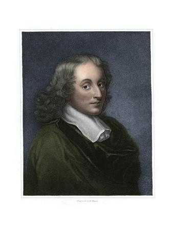 Blaise Pascal, French philosopher, mathematician, physicist and theologian, (1833)