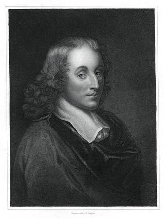 Blaise Pascal, French Philosopher, Mathematician, Physicist and Theologian