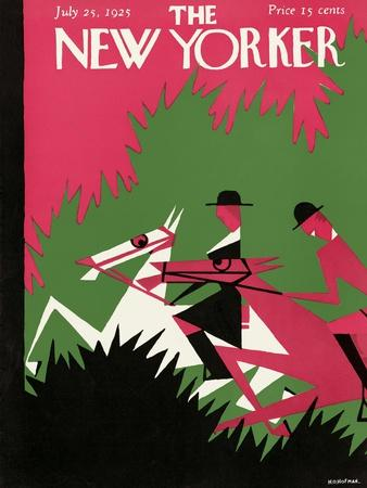 The New Yorker Cover - July 25, 1925