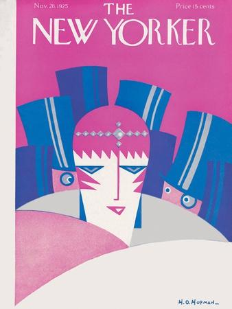 The New Yorker Cover - November 28, 1925