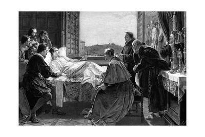 Raffaello's Deathbed