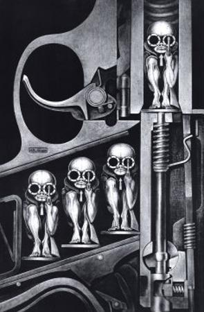 Birth Machine by H. R. Giger