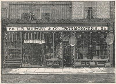 H.R Mopsey and Co Ironmongers