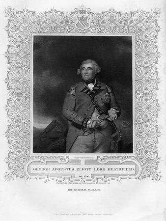 George Augustus Eliott (1717-179), 1st Baron Heathfield, 19th Century