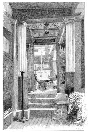 Entrance to the Studio, C1880-1882