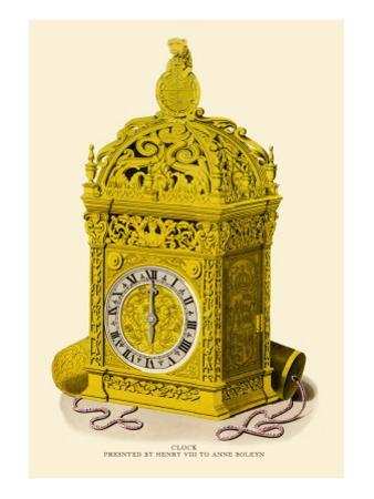 Clock, Presented by Henry VII to Anne Boleyn