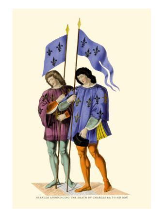 Heralds Announcing Death of Charles VI