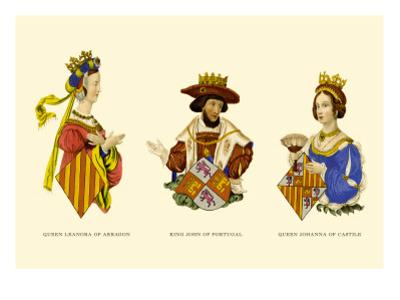 King John, and the Queens Leonora and Johanna