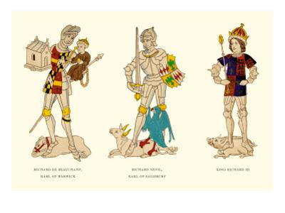 Richard de Beauchamp, Richard Nevil, and King Richard III