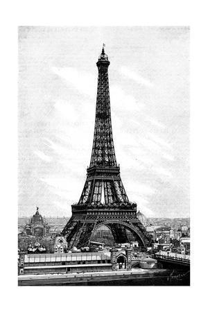 Paris, France - La Tour Eiffel