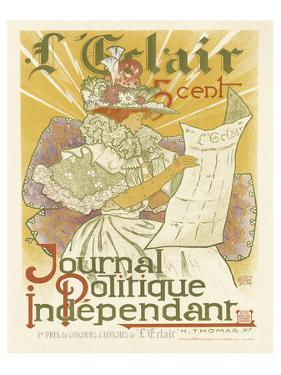 L'Eclair, Journal Politique Independent by H. Thomas