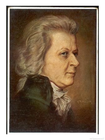 Wolfgang Amadeus Mozart the Austrian Composer in Later Life