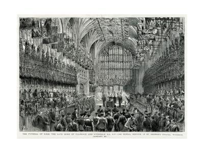 Burial of Prince Albert Victor, Duke of Clarence and Avondale