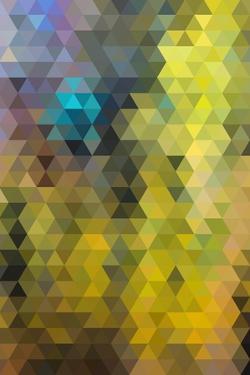 Kaleidoscope Geometric Pattern by H2Oshka