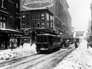 BloomingdaleIn The Snow by HA Dunne