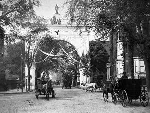 Washington Square Arch by HA Dunne