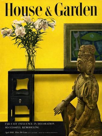 House & Garden Cover - April 1949
