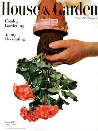 House & Garden Cover - January 1946